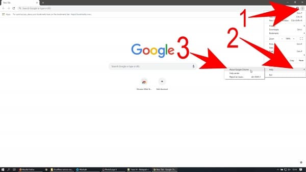 Cari Tahu Versi aplikasi Google Chrome yang terinstall di Komputer atau Laptop Anda, minimal ke Versi 70 atau diatasnya, jika tidak maka Halaman website https://karangploso.jatim.bmkg.go.id tidak bisa terinstall di di Komputer atau Laptop Anda